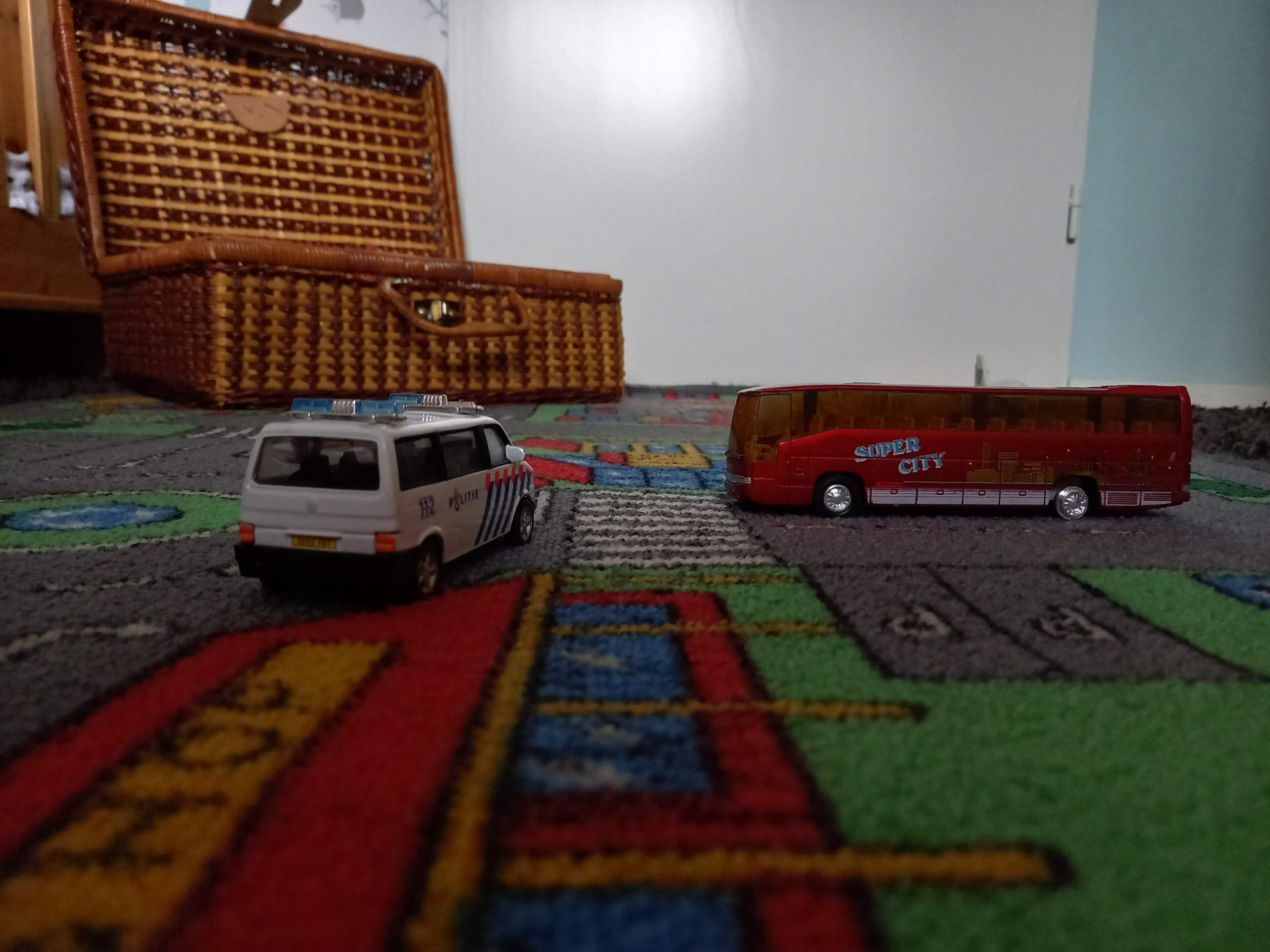 Speelgoedkleed met auto's